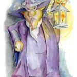 Tovenaar Triffonix met lamp