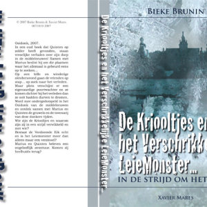 Cover:  De Kriooltjes en het  verschrikkelijke Leiemonster