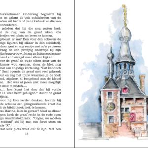 prachtige tekeningen van het  kasteel