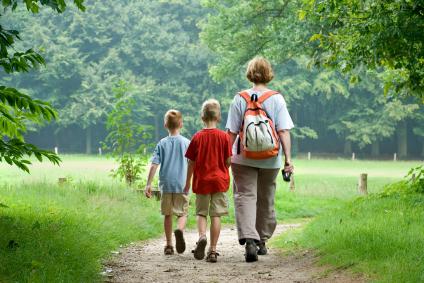 Kinderen-wandelen
